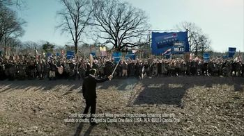 Capital One TV Spot, 'Battle Speech' Featuring Alec Baldwin