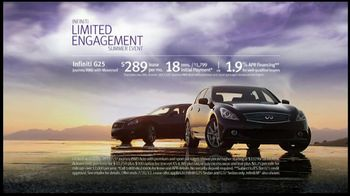 Infiniti TV Spot For Infiniti Limited Engagement Summer Event