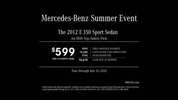 Mercedes-Benz TV Spot For Idea Of Summer Fun - Thumbnail 9
