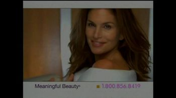 Meaningful Beauty TV Spot For Cosmetics Featuring Cindy Crawford - Thumbnail 1