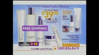 Meaningful Beauty TV Spot For Cosmetics Featuring Cindy Crawford - Thumbnail 7