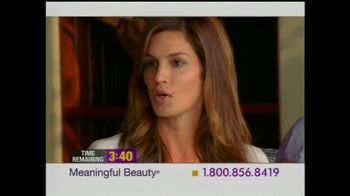 Meaningful Beauty TV Spot For Cosmetics Featuring Cindy Crawford - Thumbnail 4