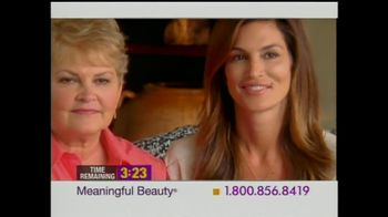 Meaningful Beauty TV Spot For Cosmetics Featuring Cindy Crawford - Thumbnail 5