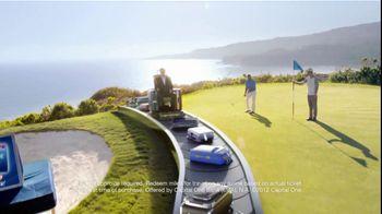 Capital One Venture TV Spot, 'Golf Getaway' Featuring Alec Baldwin - Thumbnail 6