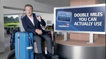 Capital One Venture TV Spot, 'Golf Getaway' Featuring Alec Baldwin - 639 commercial airings