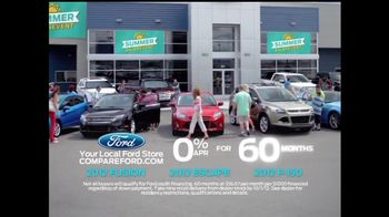 2012 Ford Fusion TV Spot, 'Summer Sales Event' Featuring Mike Rowe - Thumbnail 8