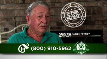 Gutter Helmet TV Spot For Never Clean Gutters Again