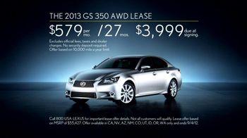 Lexus Golden Opportunity Sales Event TV Spot, 'Performance Line' - Thumbnail 9
