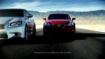 Lexus Golden Opportunity Sales Event TV Spot, 'Performance Line' - Thumbnail 2