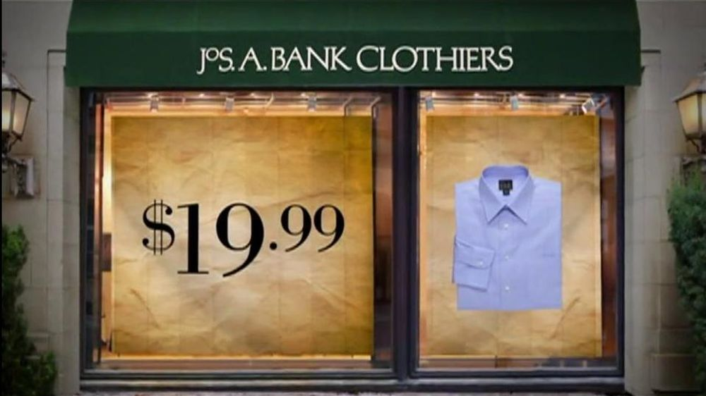 JoS. A. Bank TV Commercial For Dress Shirts And Ties