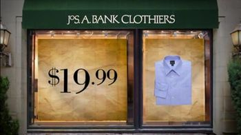 JoS. A. Bank TV Spot For Dress Shirts And Ties - 1 commercial airings