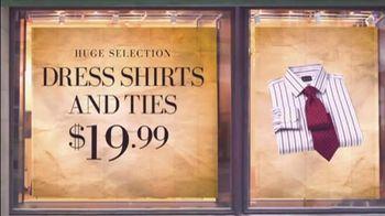 JoS. A. Bank TV Spot For Dress Shirts And Ties - Thumbnail 4