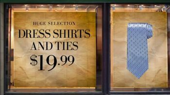 JoS. A. Bank TV Spot For Dress Shirts And Ties - Thumbnail 5