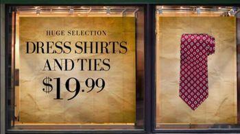 JoS. A. Bank TV Spot For Dress Shirts And Ties - Thumbnail 6