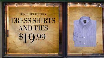 JoS. A. Bank TV Spot For Dress Shirts And Ties - Thumbnail 8