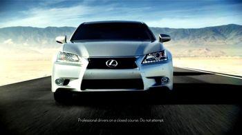 Lexus TV Spot, 'Performance Line Golden Opportunity' - Thumbnail 3