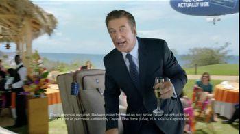 Capital One Venture TV Spot, 'Bridesmaid' Featuring Alec Baldwin - Thumbnail 7