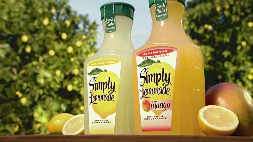 Simply Lemonade TV Commercial, 'Sweeter'