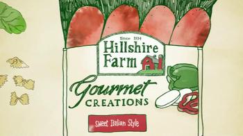 Hillshire Farm TV Spot For Gourmet Creations