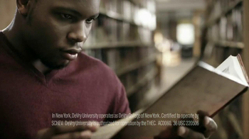 DeVry University TV Spot, 'Olympic And Academic Gold' Feat. Donovan Ford - Thumbnail 6