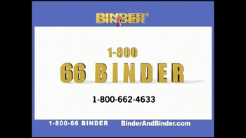 Binder and Binder TV Spot For Listening And Getting Results - Thumbnail 2
