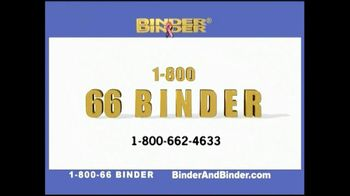 Binder and Binder TV Spot For Listening And Getting Results