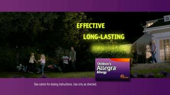 Children's Allegra Allergy TV Spot, 'Emma: Fireflies' - Thumbnail 6