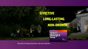 Children's Allegra Allergy TV Spot, 'Emma: Fireflies' - Thumbnail 7