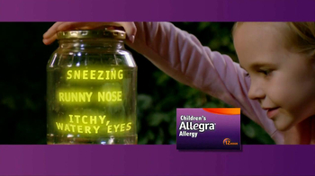Children's Allegra Allergy TV Spot, 'Emma: Fireflies'
