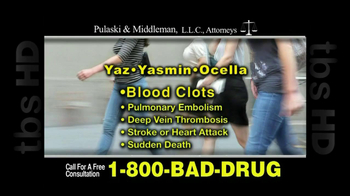 Pulaski & Middleman, L.L.C, Attorneys TV Spot For Yaz, Yazmin and Ocella - Thumbnail 1