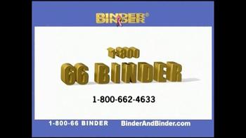 Binder and Binder TV Spot, 'Successful' - Thumbnail 5