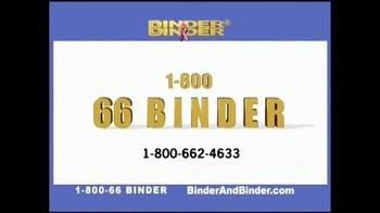 Binder and Binder TV Spot, 'Successful' - Thumbnail 7
