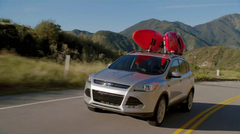 2013 Ford Escape TV Spot, 'The Browns: Gas Station' - Thumbnail 3