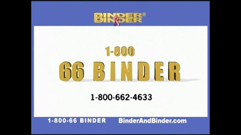 Binder and Binder TV Spot For Binder and Binder Featuring Charles Binder - Thumbnail 10