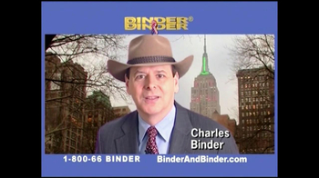 Binder and Binder TV Spot For Binder and Binder Featuring Charles Binder - Thumbnail 6