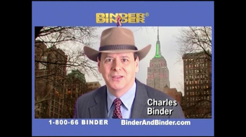 Binder and Binder TV Spot For Binder and Binder Featuring Charles Binder - Thumbnail 7
