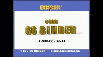 Binder and Binder TV Spot For Binder and Binder Featuring Charles Binder - Thumbnail 8