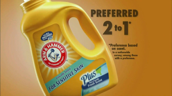 Arm and Hammer TV Spot For Sensitive Skin Detergent - Thumbnail 3