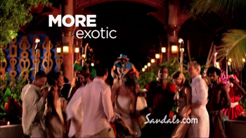 Sandals Resorts TV Spot, 'More Unique' - Thumbnail 8