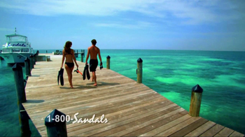 Sandals Resorts TV Spot, 'More Unique' - Thumbnail 3