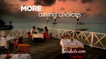 Sandals Resorts TV Spot, 'More Unique' - Thumbnail 6