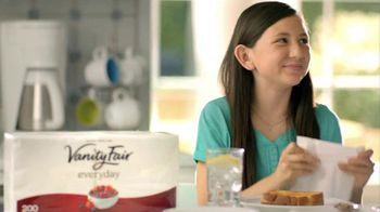 Vanity Fair Everyday Napkins TV Spot, 'Just Pennies'