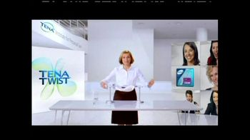 TENA Twist Technology TV Spot, 'Stand Up to the Twist'