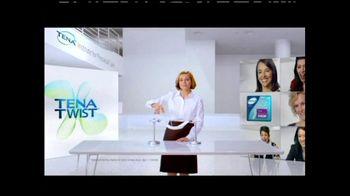 TENA Twist Technology TV Spot, 'Stand Up to the Twist' - Thumbnail 3