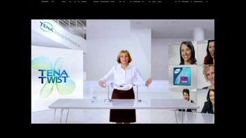 TENA Twist Technology TV Spot, 'Stand Up to the Twist' - Thumbnail 5