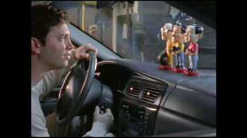 Pep Boys TV Spot For Bobbleheads Engine Light