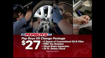 Pep Boys TV Spot For Bobbleheads Engine Light - Thumbnail 6