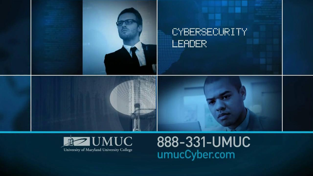 University of Maryland University College TV Commercial For Cyber ...