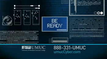University of Maryland University College TV Spot For Cyber Security Jobs - Thumbnail 2