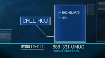 University of Maryland University College TV Spot For Cyber Security Jobs - Thumbnail 3